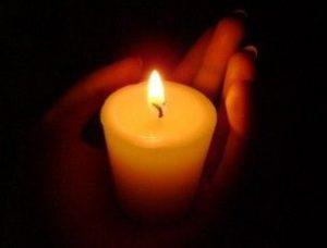 Свеча для ритуального обряда