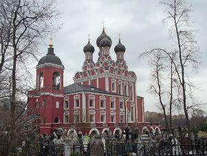 Алексеевское кладбище в Москве