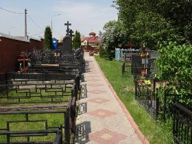 Борисовское кладбище в Москве