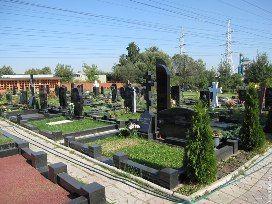Бусиновское кладбище в Москве