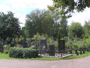 Машкинское кладбище в Химках