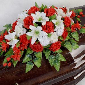 Кремационная композиция на гроб Элит 2