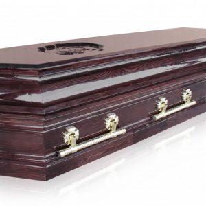 Гроб Пегас темный 8 граней