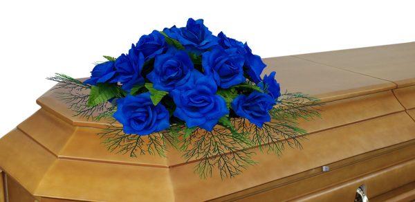 цветочная композиция на крышку гроба 3