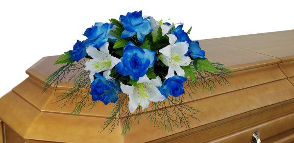 цветочная кремационная композиция №7