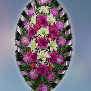 Венок на похороны серия Стандарт 12