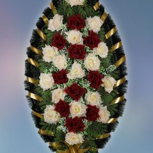 Венок на похороны серия Стандарт 14