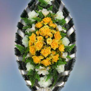 Венок на похороны заказной -18