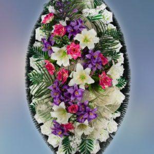 Венок на похороны заказной -25