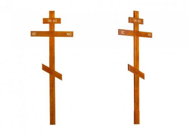 Крест на могилу Прямой