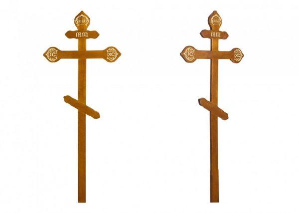 Крест на могилу Фигурный