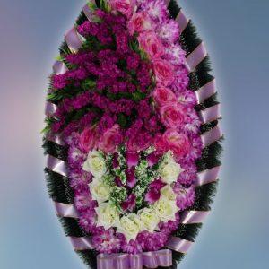 Венок на похороны заказной -6