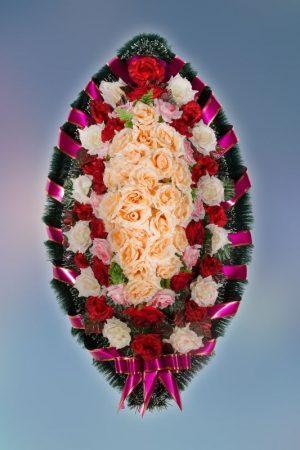 Венок на похороны заказной -7