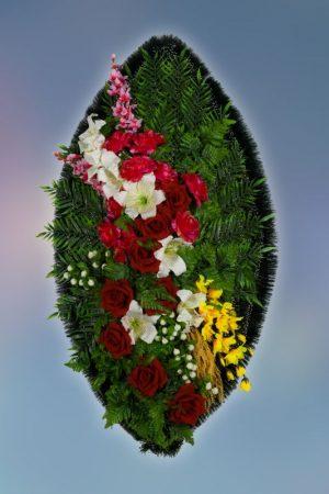 Венок на похороны заказной -8