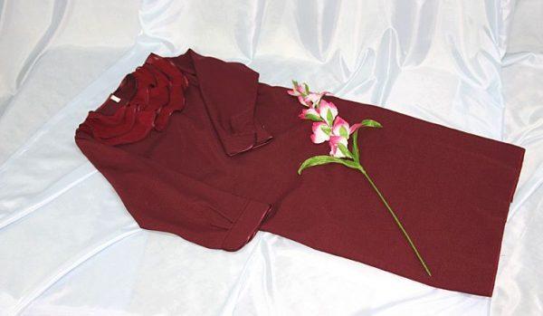 Платье женское похоронное №2