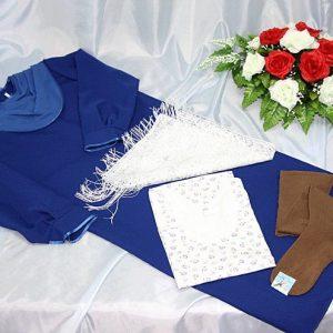 Платье женское похоронное комплект