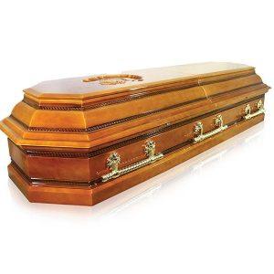 гроб ПЕГАС 8 граней , светлый