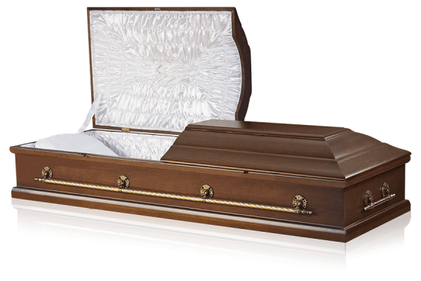 гроб двухкрышечный Прима 210
