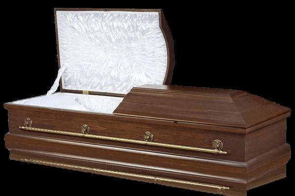 гроб Прима темного цвета