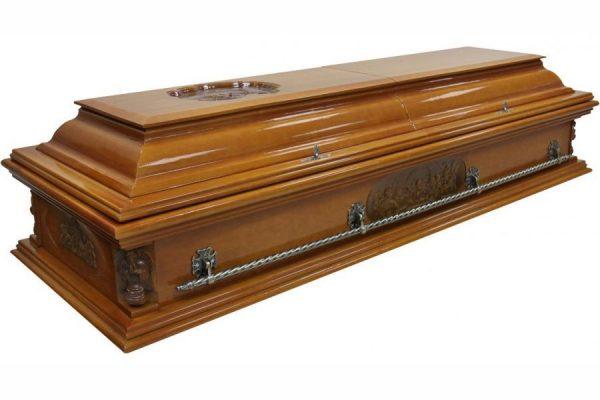 Гроб Вегас Ангел, двухкрышечный саркофаг