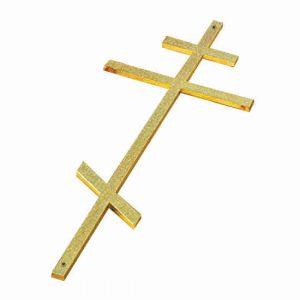 Крест металл на гроб