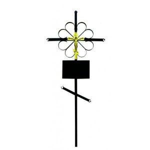 Крест на могилу Стандарт металл
