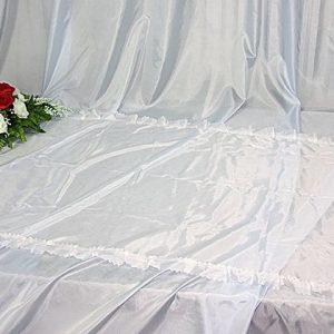 покрывало ритуальное шелк без символики