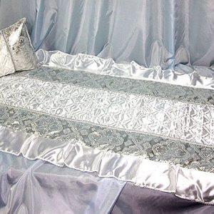 Комплект в гроб Собор серебро