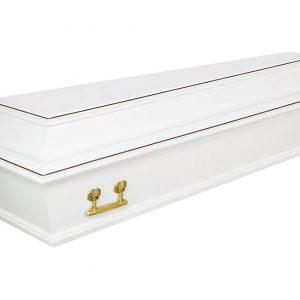 Гроб Б4 белый