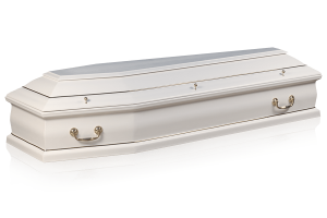 гроб Саркофаг белый