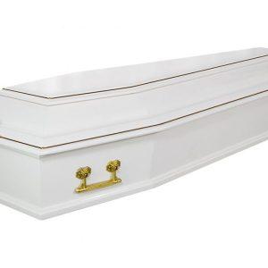 Гроб Классика белый