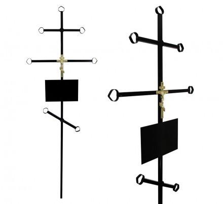 Крест эконом металлический