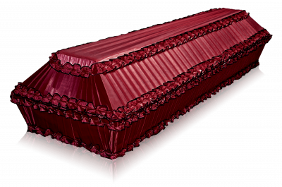 Гроб Полугофре бордо