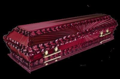 Гроб Луч бордо