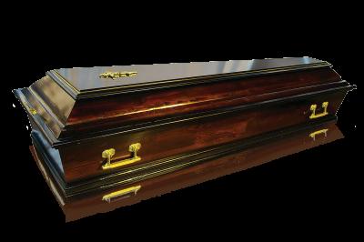 Гроб Б4 темный