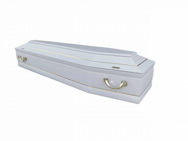 Купить белый гроб